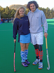 Corey and Kerry-Anne Hastings International athletes