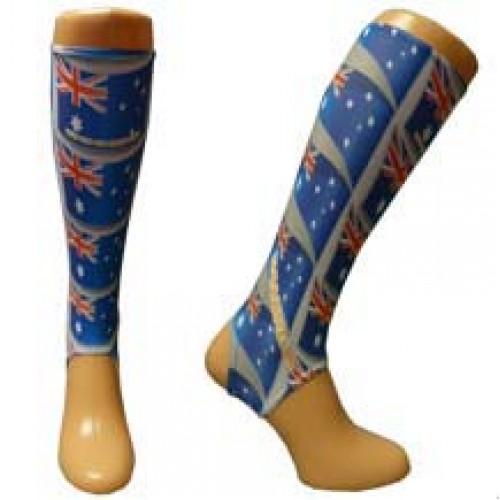 Australia flag inner socks Medium