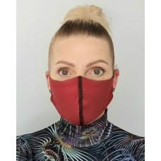 Antimicrobial Face Masks with 2 Filters - Washable - Reusable.