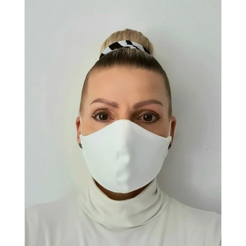 Cotton Face Mask - Washable & Reusable - White