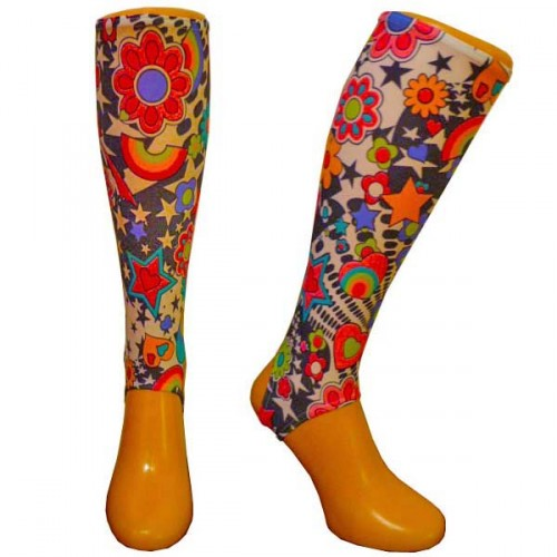 Flower Power shin guard liners Adult