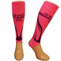 Pink PRO shin pad liners small