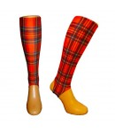 Tartan shin sleeves Small