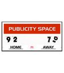 Your logo / Sponsor  Scoreboard