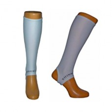 White shin sleeves shinpad liner